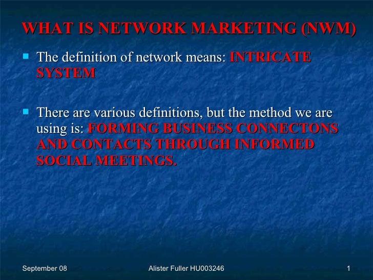 Network Marketing - A Brief History