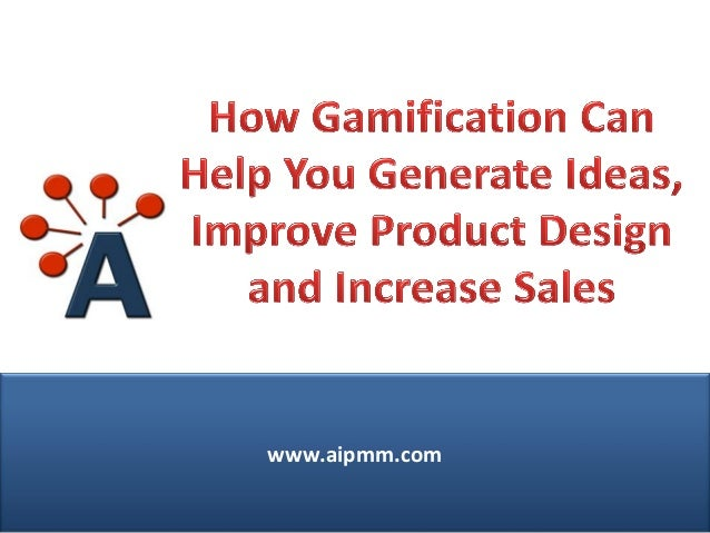 Improve Product Design and Increase Sales Through Gamification