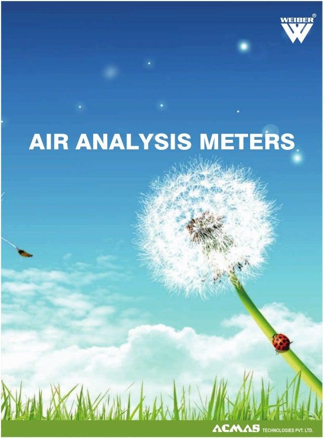 R  AIR ANALYSIS METERS