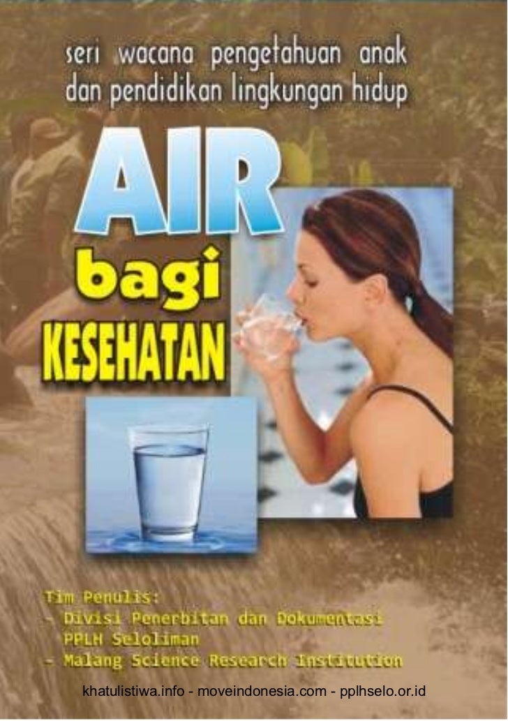 Air dalam Kehidupan Manusia