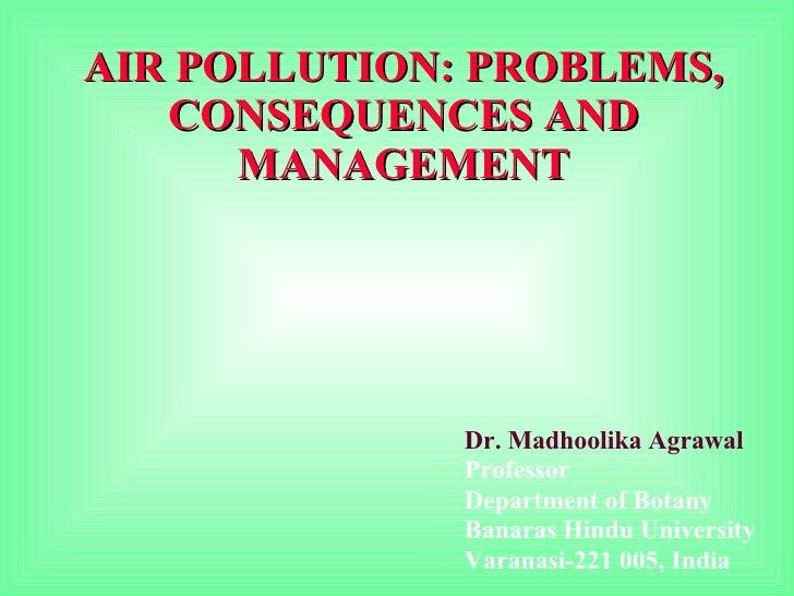 Air Pollution Evs