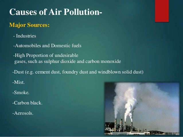 pollution and its effects on the