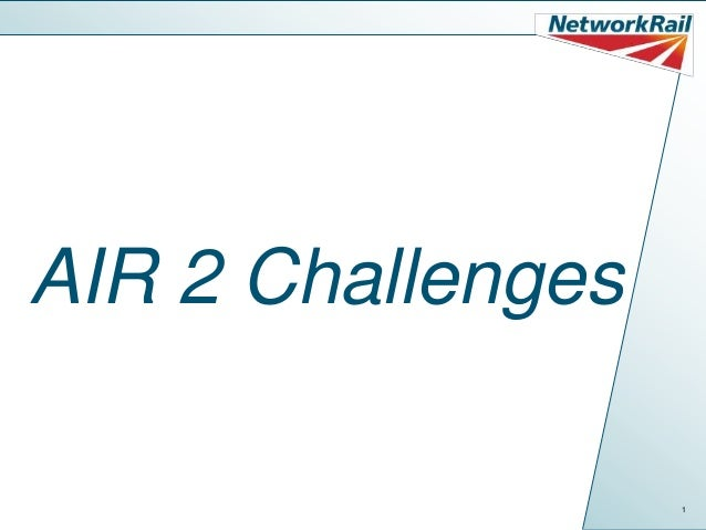 AIR 2 Challenges                   1