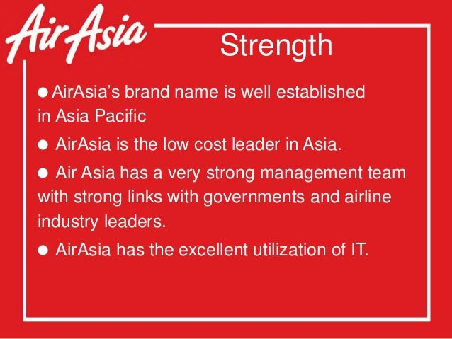 weakness of airasia How to answer: what are your weaknesses for a airasia bhd job interview with 81 user-submitted interview answers to help you craft your best interview answer.