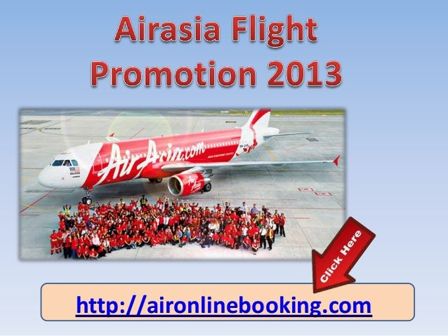 Airasia online booking free ticket 2013