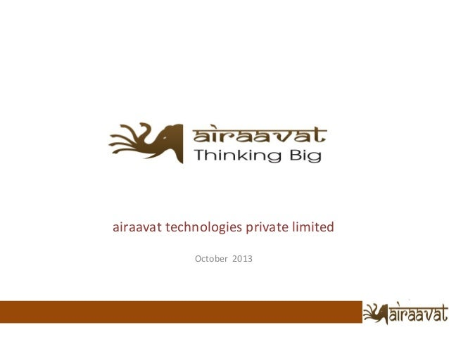 Airavaat Technologies October 2013
