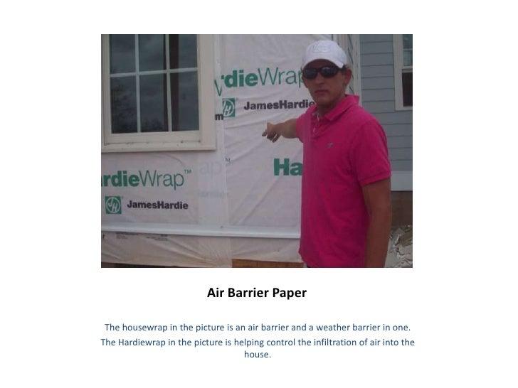 Air Barrier Paper