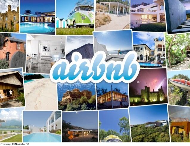 Airbnb - TravelNext Congres 2012