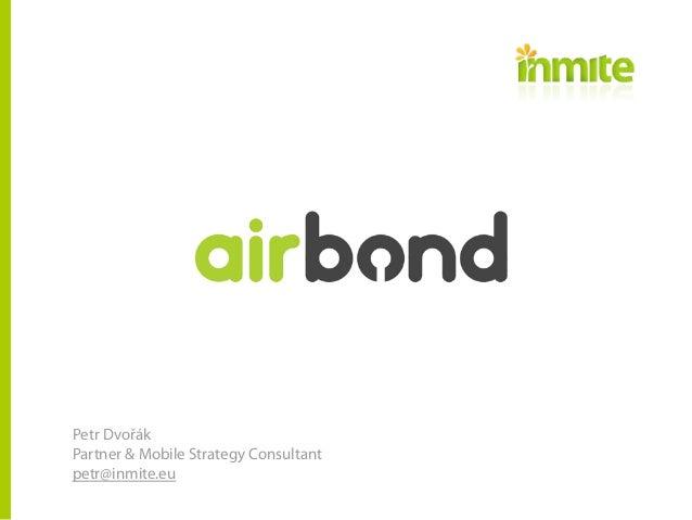 AIR BOND - Jednoduše lepší bezpečnost mobilního bankovnictví pro normální lidi.