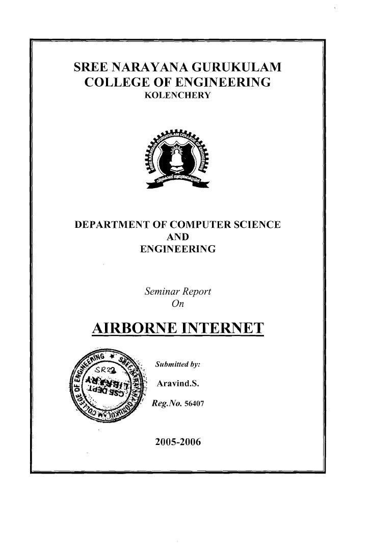 SREE NARAYANA GURUKULAM      COLLEGE OF ENGINEERING               KOLENCHERY         DEPARTMENT OF COMPUTER SCIENCE       ...