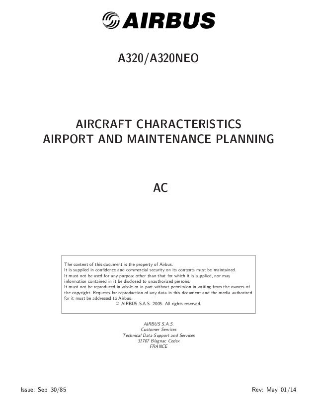 Briggs Stratton Com >> AIRCRAFT CHARACTERISTICS AIRPORT AND MAINTENANCE PLANNING Airbus A32…