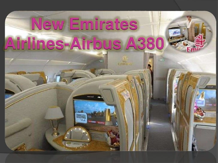 New Emirates Airlines-Airbus A380<br />