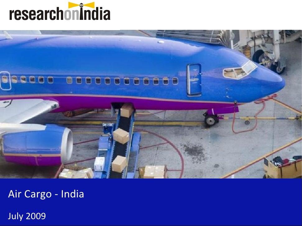 Air Cargo - India - Sample