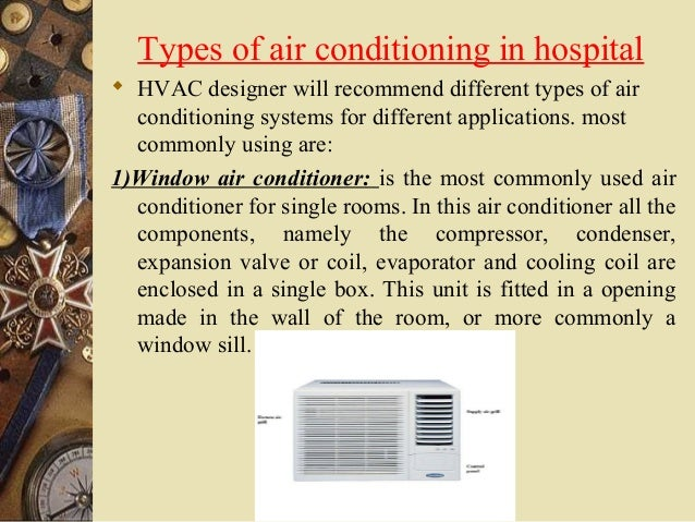 Air Condition Requirement In Hospitals