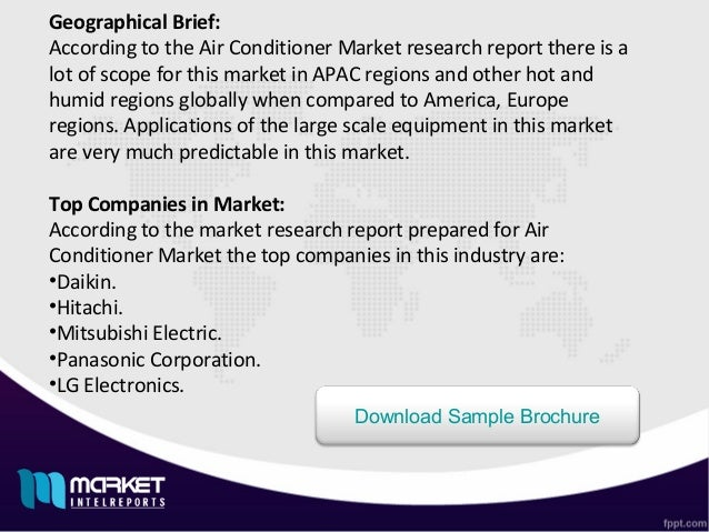 Complete overview of Global Air Conditioner market scrutinized new ma…