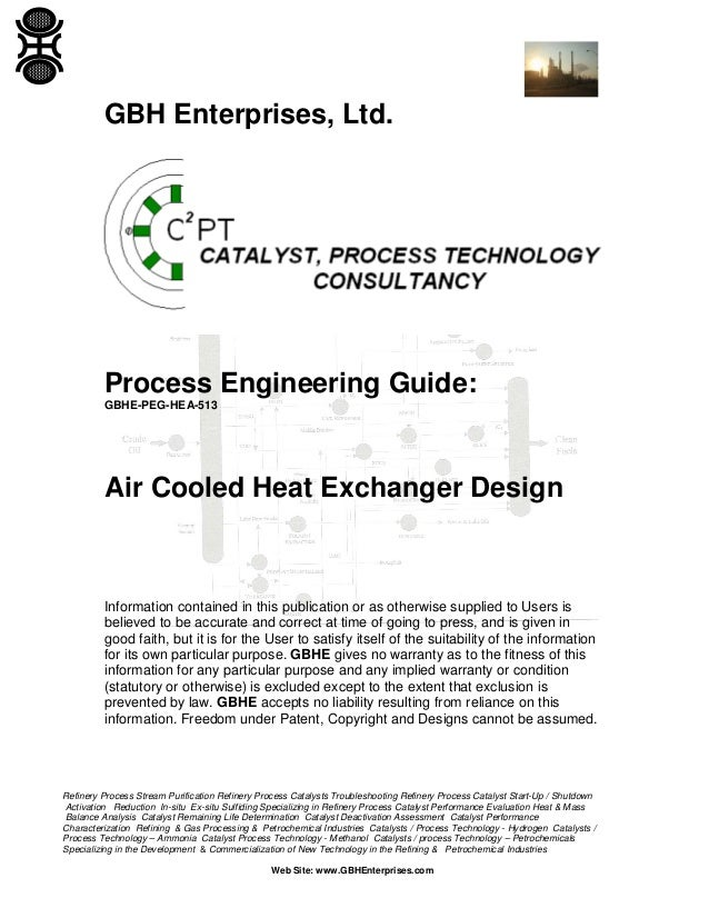 Air Cooled Heat Exchanger Design
