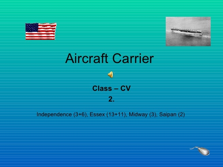 Aircraft Carrier Cv (2)