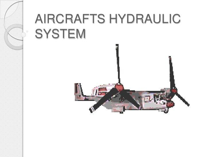 AIRCRAFTS HYDRAULICSYSTEM