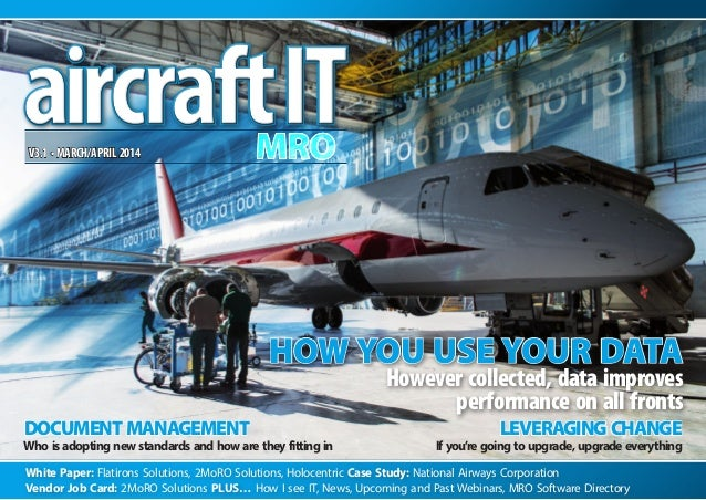 "Aircraft IT MRO eJournal ""2014 Predictions"" How I See IT"