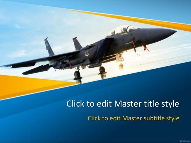 Aircraft PowerPoint Background and Template for Aviation Industry PowerPoint Presentation