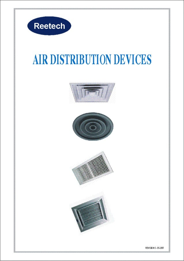 Air distribution devices