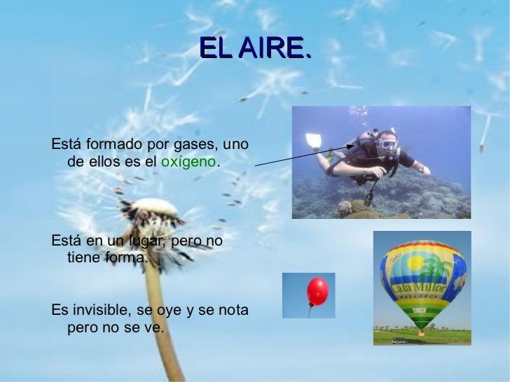 """Cuidar el Medio Ambiente"""": """"El Aire"""""""