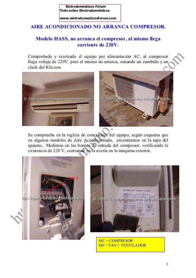 Eletrodomésticos Fórum                Todo sobre Electrodomésticos                www.eletrodomesticosforum.com AIRE ACOND...