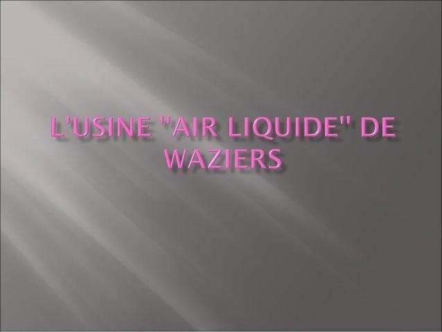 1) Présentation de lusinele 20 mars 2012, nous avons reçu monsieur Lacour   ( membre de léquipe de direction) il nous a   ...
