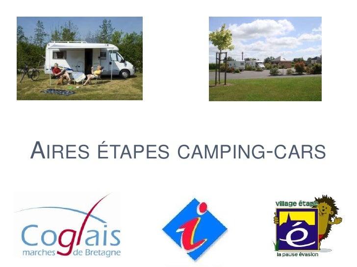 Aires etapes Camping-cars Coglais - Village étape