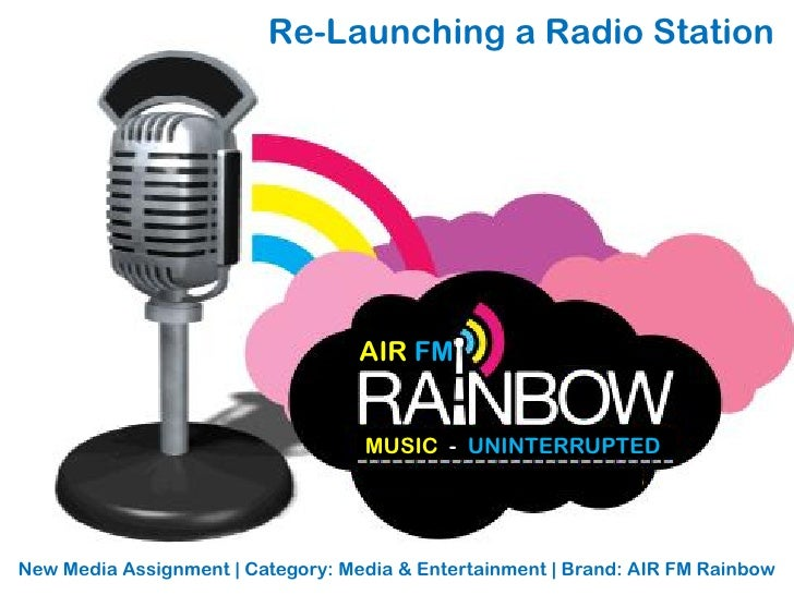 Air Fm Rainbow Relaunch