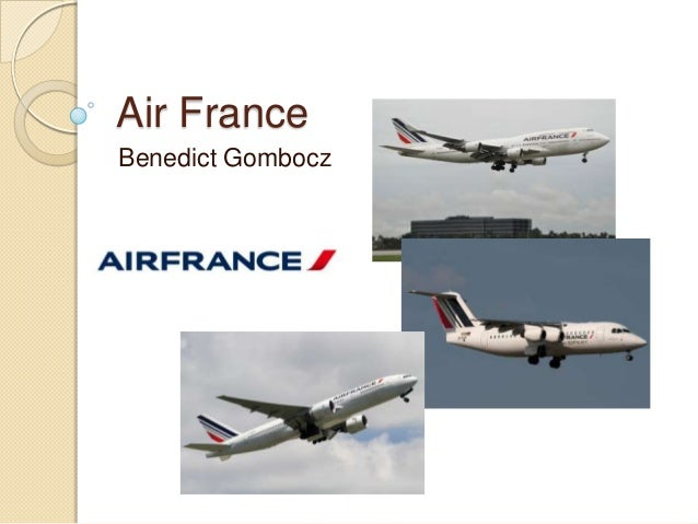 Air France Benedict Gombocz