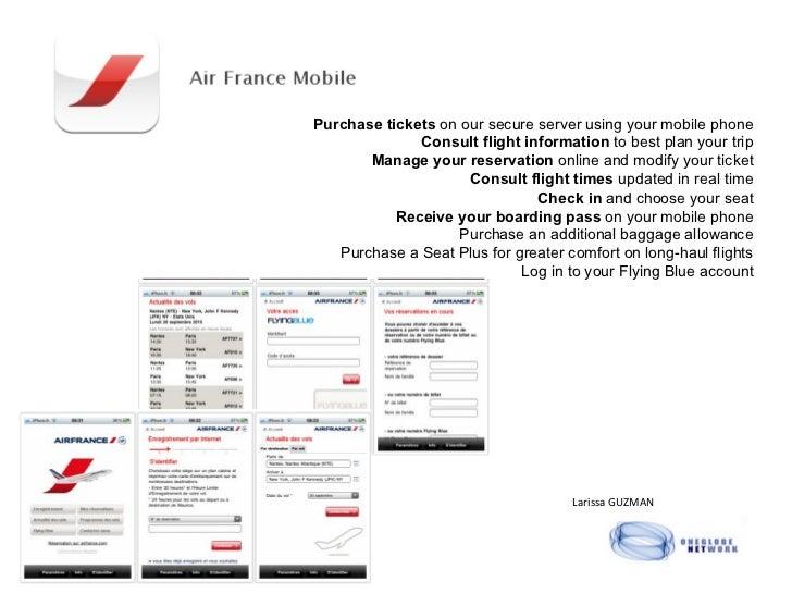 Air france app