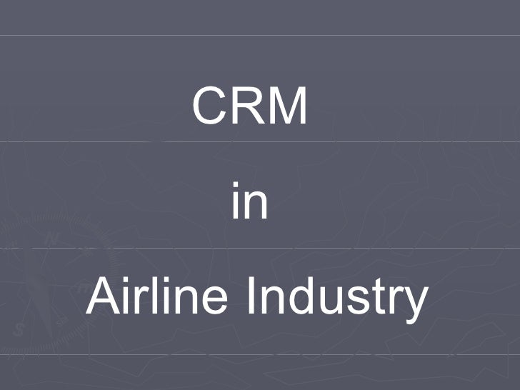 Airline Crm