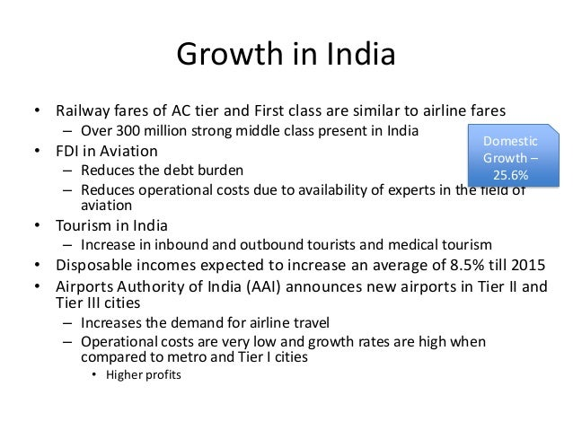airlines industry india Indian aviation sector will see rs 1 lakh cr investment in 5 years: jayant sinha  as his ministry firms up plans to achieve 1 billion passenger trips per annum.