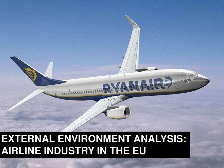 EXTERNAL ENVIRONMENT ANALYSIS:<br />AIRLINE INDUSTRY IN THE EU<br />