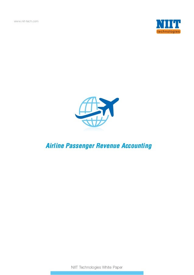 www.niit-tech.com  Airline Passenger Revenue Accounting  NIIT Technologies White Paper