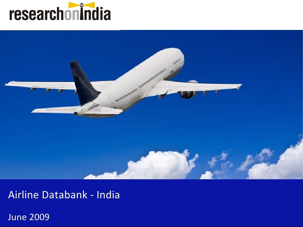 Airline Databank - India June 2009