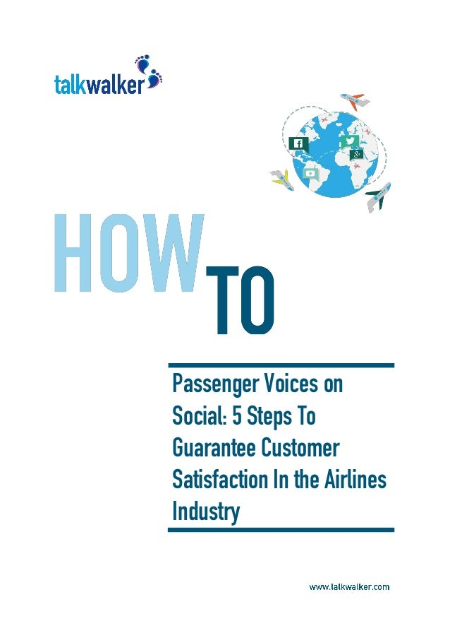 customer satisfaction in airline industry pdf