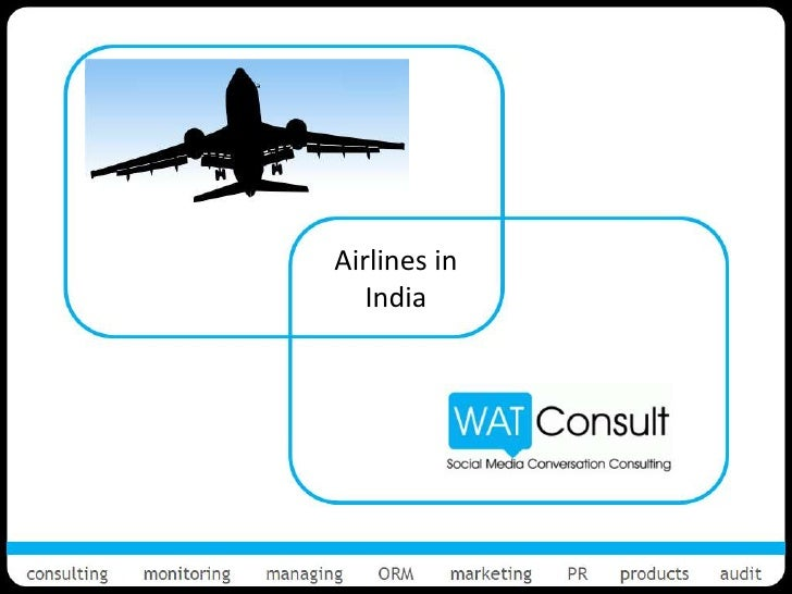 Social Media for Airlines Industry in India