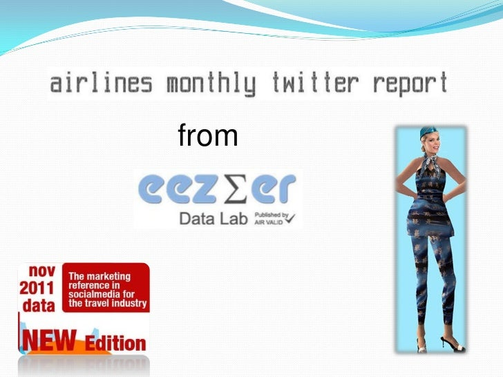 Airlines Monthly Twitter Report   November 2011 data