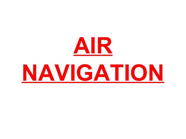 Air navigation PILOTS