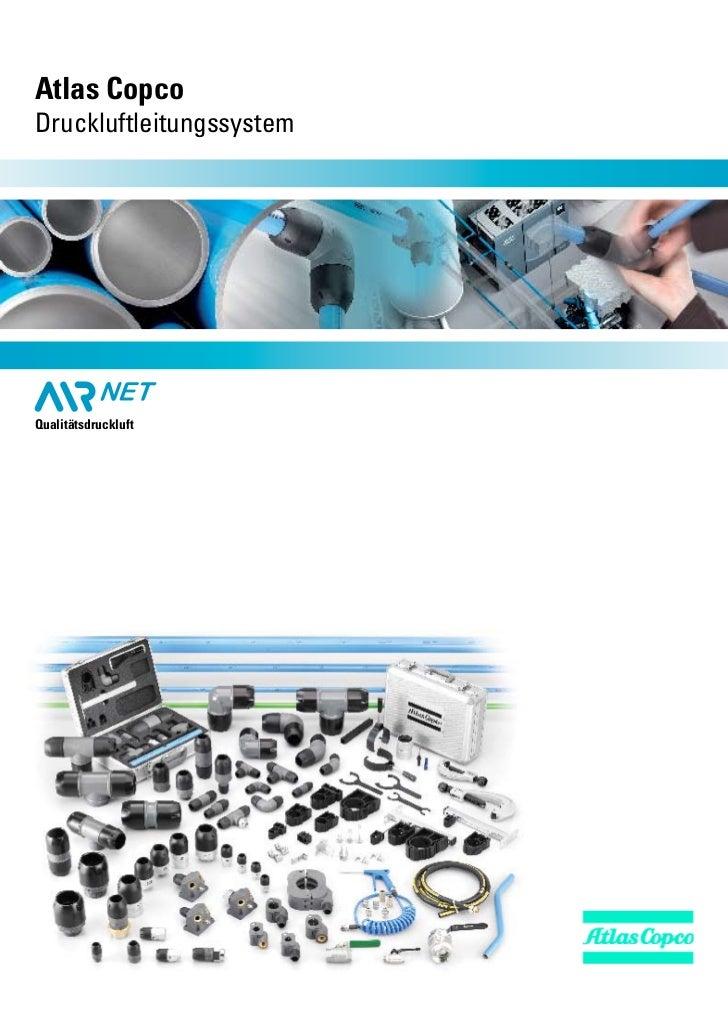 Atlas CopcoDruckluftleitungssystemQualitätsdruckluft