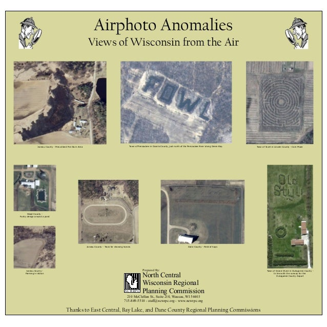 Airphoto anomilies