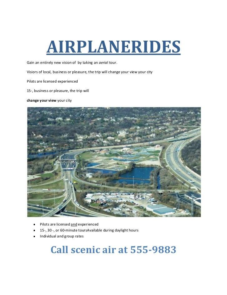 Airplanerides