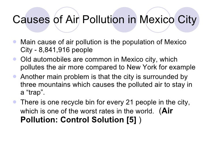 air pollution is their a solution Air pollution is an ecological problem having to do with toxins in the air if pollution continues as bad as it is the ozone layer will eventually become depleted and allow ultra violet rays in the earth.