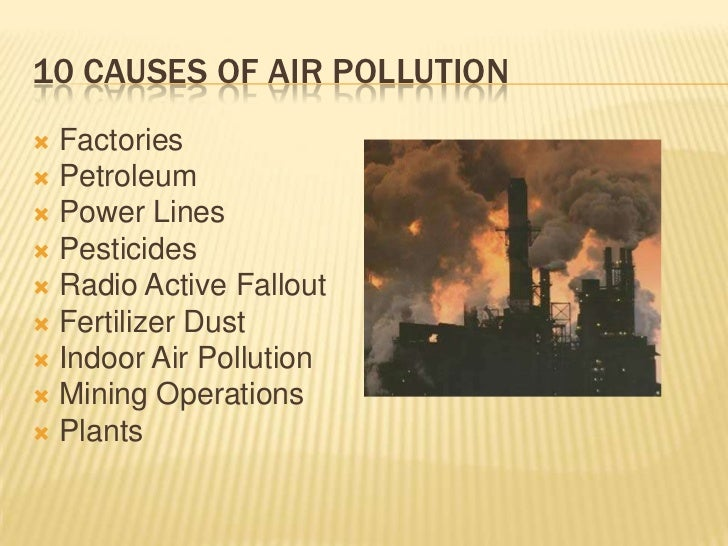 Air Pollution Essay Examples - Kibin