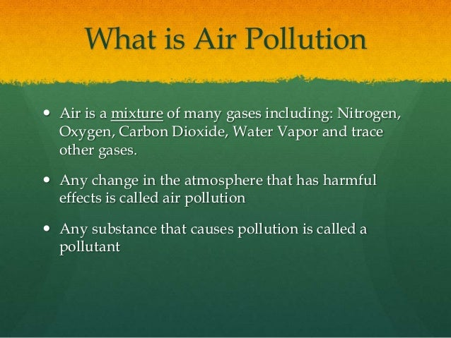 air pollution what is it Indoor air pollution has the same negative effects as environmental pollution sources include mold, pesticides and more find out how you can reduce it.