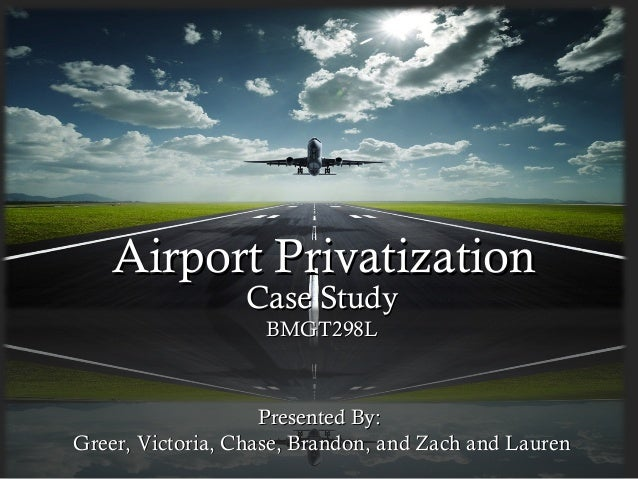 Case Studies on Commercialization, Privatization and ...