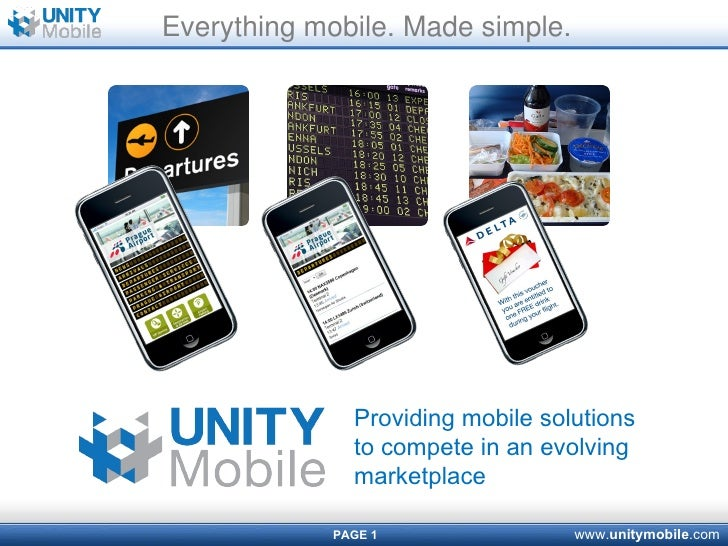 Everything mobile. Made simple. Providing mobile solutions to compete in an evolving marketplace
