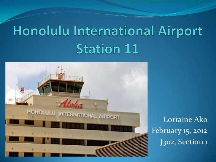 Honolulu Rail Transit - Airport Station